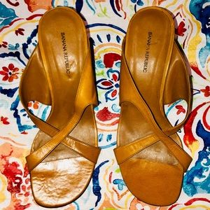 Banana Republic Leather Sandals Sz. 9